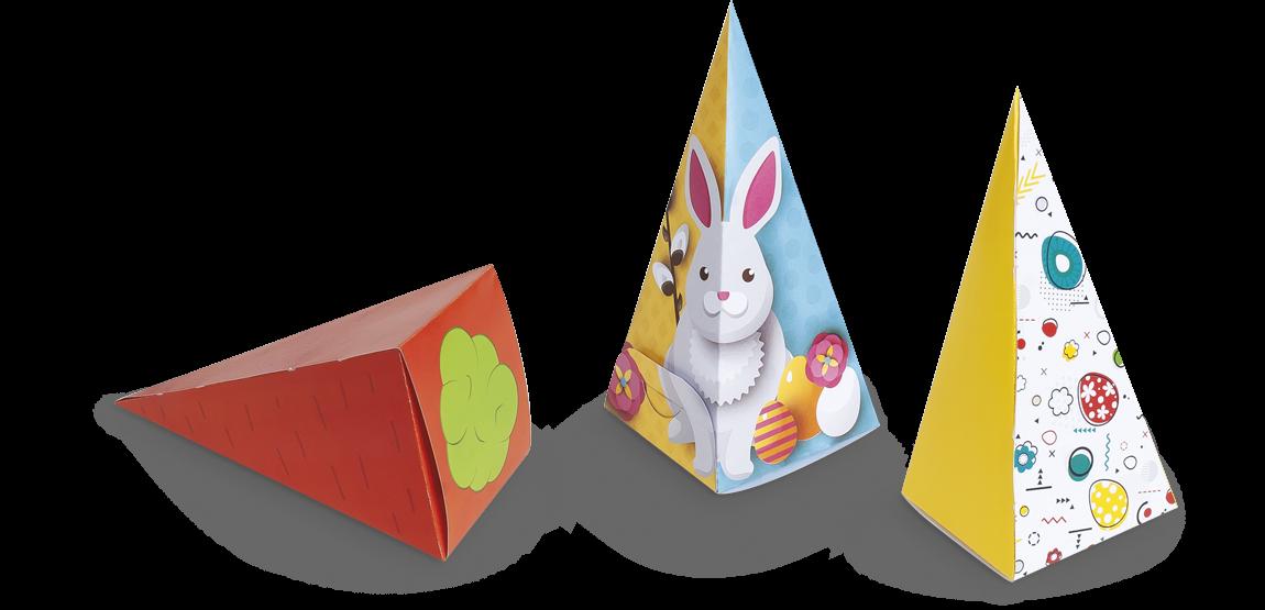 Boîtes Cône Pâques