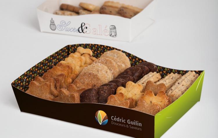 Packaging petits-fours et gâteaux secs