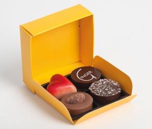 Gamme Mulhaupt - boîte 4 chocolats